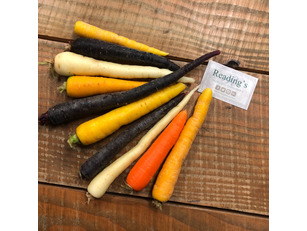 Coloured Carrots (500g)