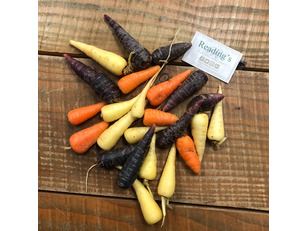 Coloured Chanteney Carrots (500g)