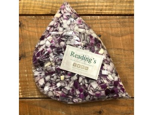 Diced Red Onions (1Kg)