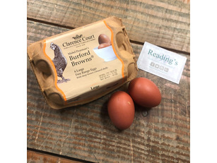Burford Browns (Free Range) Hens Eggs (Tray 6)