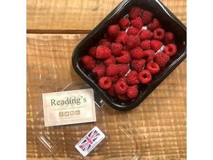 English Raspberries (125g Punnet)