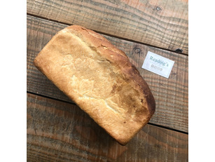 'Blixes Farm' Large White Tin Loaf (Uncut) (Freshly baked each morning)